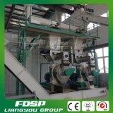 Machine en bois de biomasse d'usine de boulette pour la ligne entière
