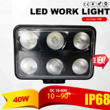 60W LED del trabajo (4x6inch, impermeable IP69K)