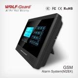 WiFi+GSM 433MHzのホームセキュリティーの侵入者の警報システムの無線電信