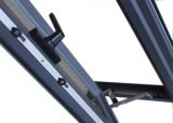 Guichet en aluminium de tissu pour rideaux de double de profil de l'interruption Kz283 Non-Thermal