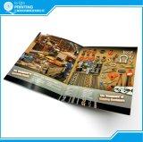 Servizio di stampa dell'opuscolo dell'opuscolo dell'aletta di filatoio del libretto dell'opuscolo dello scomparto del catalogo del libro