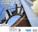 2016 Hot Sale Outdoor Rattan Round Sun Bed com Canopy