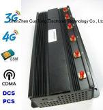 Telemóvel Signal Jammer 15W Block 60m de Jammer 6 Band G/M 2g 3G 4G Lte 4G do sinal