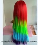 Caldo vendendo la mia parrucca lunga riccia dei capelli di Cosplay di piccolo colore del cavallino