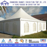 De witte Openlucht Privé Tent van de Pagode van Gazebo van de Gebeurtenis van de Tentoonstelling