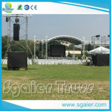 Sale Aluminum Studio Curved Event Stage Lighting Roof Trussの中国