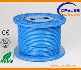 Wateproof 0.5 куртки кабеля связи PVC+PE кота 6 CCA