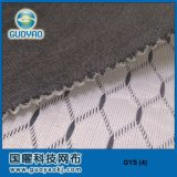 Tissu en mousse à air double à deux tons, tissu Pointelle