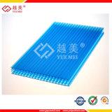 Hochwertiges transparentes Polycarbonat-Bienenwabe-Blatt