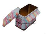 Caixa de presente irregular da caixa do estanho da forma da casa