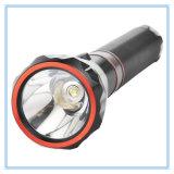 Lumière imperméable à l'eau en gros bon marché de la torche 3W de lampe-torche rechargeable