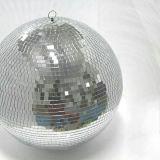 10 ~ 100cm Réflexion de mariage Mirror Ball Bar Light Lunette de verre réfléchissante Magic Stage Lighting