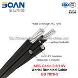 ABC-Kabel, zusammengerolltes Luftkabel, 0.6/1 KV (BS 7870-5)