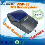 Handheld принтер POS восходящего потока теплого воздуха (WSP-58B)