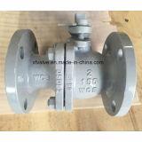 tipo de flutuação válvula de Wcb do aço de molde 150lb de esfera da extremidade da flange