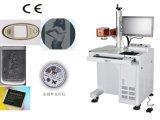 Inscription de laser de fibre et machine de découpage bien projetées