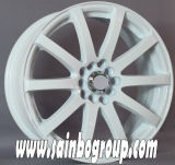 18X9.5 Polished Gloss Black Car Alloy Rims da vendere