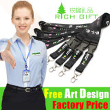 Todo o Kinds de Lanyard com Square Clip Attachment para Promotional