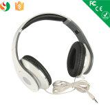 La coutume de câble stéréo pliable d'échantillon libre bat des écouteurs sans microphone Lx-B01