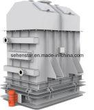 Cambista de calor do calefator do fluxo do pó