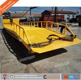 do caminhão móvel do preço da rampa da jarda do recipiente da capacidade 5t-20t rampa usada hidráulica da doca