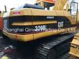 A esteira rolante de Japão usou 2006~2009 a máquina escavadora hidráulica do Backhoe da lagarta 320b (20TON/0.5~1.0CBM)