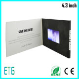 Выдвиженческая книга видеоего LCD 4.3 дюймов