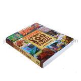 Alto servizio di stampa del libro di cucina di Qaulity del grippaggio perfetto (jhy-306)