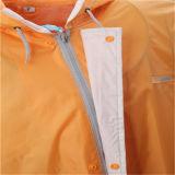 熱い販売法の耐久の長い袖のレインコート