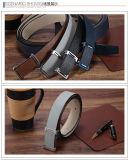 Il nero e cinghie rovesciabili dell'inarcamento di Pin di metallo della cinghia di cuoio del Brown