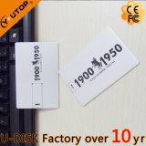 Kundenspezifisches Firmenzeichen-MetallBusiess Karte USB-Blitz-Laufwerk (YT-3101-03L)