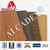 """Panneau """"sandwich"""" d'intérieur d'ACP de décoration de texture en bois"""