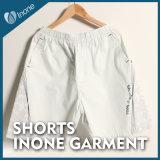 Inone 001 Mens nada Shorts ocasionais da placa das calças curtas
