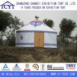 Водоустойчивый сь туристский монгольский алюминиевый Bamboo шатер Yurt