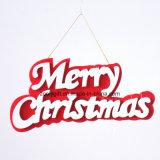 hojas cortadas con tintas 3D de EVA para la decoración colgante del día de fiesta de la Navidad