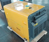 7.5kVAセリウムISO Air Cooled Portable Silent Diesel Power Genset/Generator