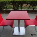 Het dineren Eettafel van de Oppervlakte van het Meubilair de Vierkante Witte Stevige