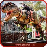 O som brinca o controlo a distância do dinossauro