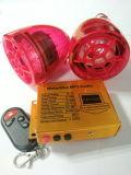 Système d'alarme de la moto MP3 avec le bouton poussoir