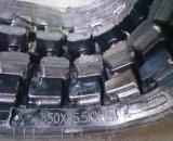 Trilha de borracha da máquina escavadora amplamente utilizada (350X75.5kx74) para Yanmar