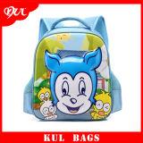 (KL1010)男の子3Dエヴァのバックパックのかわいいウサギの漫画のランドセル