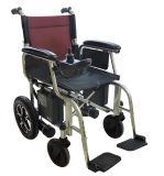 Acero del poder económico de la alta calidad plegable el sillón de ruedas eléctrico para lisiado y las personas mayores