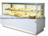 Frigorifero della visualizzazione della torta di prezzi di fabbrica di alta qualità con Ce