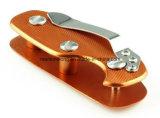 EDC 경량 접히는 키 조직자 홀더 포켓 알루미늄 중요한 홀더