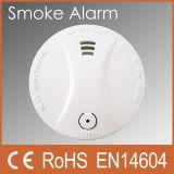 Détecteur de fumée photoélectrique Peasway Alarme de fumée Batterie 9V (PW-507S)