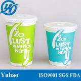 FDA e copo de papel bebendo certificado UE do frio da impressão
