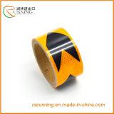 Material reflexivo de la etiqueta engomada, película reflexiva, reflexiva adhesiva 3400 del carro