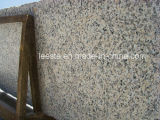 Mattonelle rosse del granito del granito di prezzi di fabbrica della pelle dentellare cinese della tigre