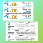 Kratzer-Plastikkarte für Telefon frankierte Karte
