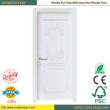 Дверь PVC нутряной двери PVC двери PVC туалета деревянная